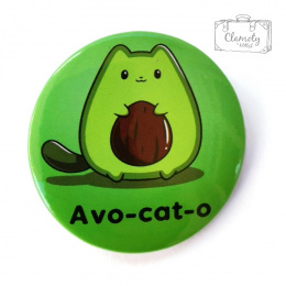 Avocado AWO-CAT-O BUTON PIN
