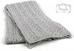 SCARF GREY SUPER GIFT