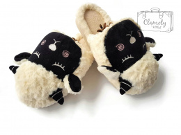 SLIPPERS BEIGE SHEEP