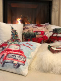 CUSHION COVER PILLOW CHRISTMAS TREE CHRISTMAS SANTA CLAUS GIFT TR2